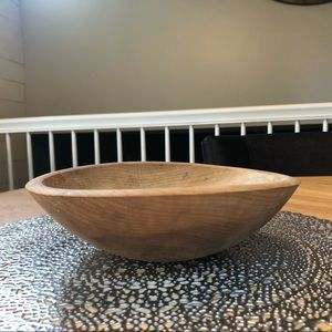 Vintage dough bowl